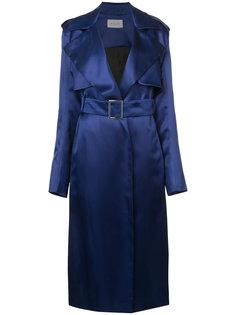 приталенное пальто с поясом Mugler