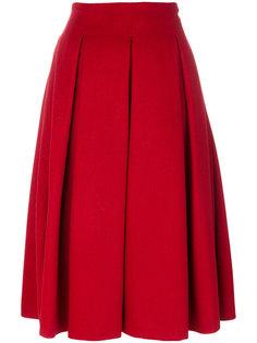 плиссированная юбка Frate Max Mara