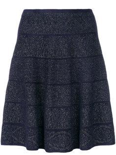 расклешенная юбка в горошек  D.Exterior