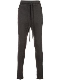 zipper pocket track pants Thom Krom