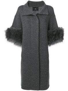 пальто с искусственным мехом  Steffen Schraut
