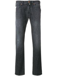 джинсы прямого кроя Incotex