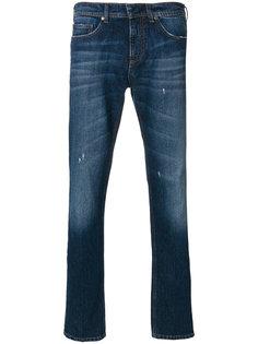 выбеленные джинсы Neil Barrett