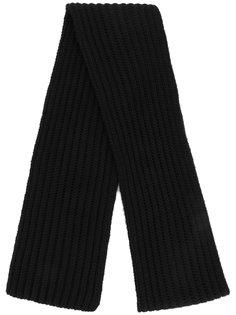 трикотажный шарф в рубчик Neil Barrett