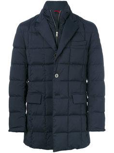 многослойное пальто-пуховик Fay