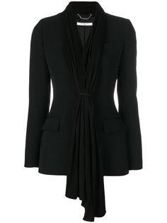 приталенный кардиган с драпировкой  Givenchy