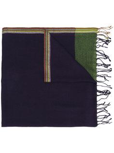 тканый шарф с необработанными краями Paul Smith