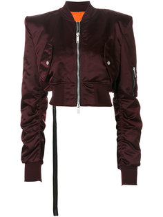 укороченная куртка-бомбер  Unravel Project