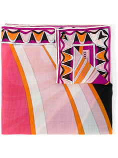 шарф с геометрическим рисунком Emilio Pucci