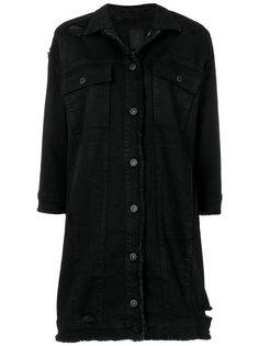 состаренная джинсовая куртка  Thom Krom