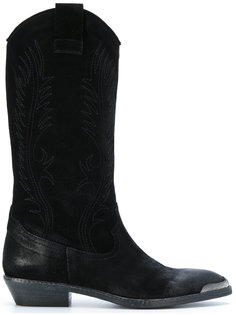 slip-on cowboy boots Fausto Zenga