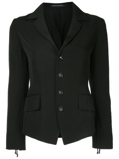 corset back fitted jacket Yohji Yamamoto Vintage