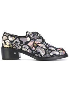 Jeanne Floral Mesh derby shoes Laurence Dacade