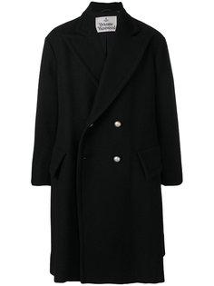 объемное двубортное пальто Vivienne Westwood