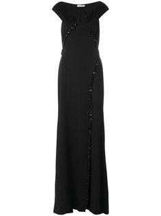вечернее платье с кристаллами Blumarine