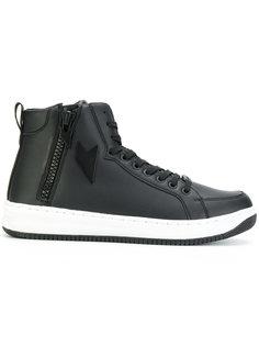 zipped hi-top sneakers Ea7 Emporio Armani
