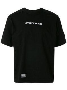 embroidered inside-out T-shirt KTZ