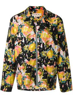 куртка с абстрактным узором Marni