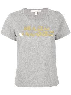 классическая футболка с логотипом Marc Jacobs