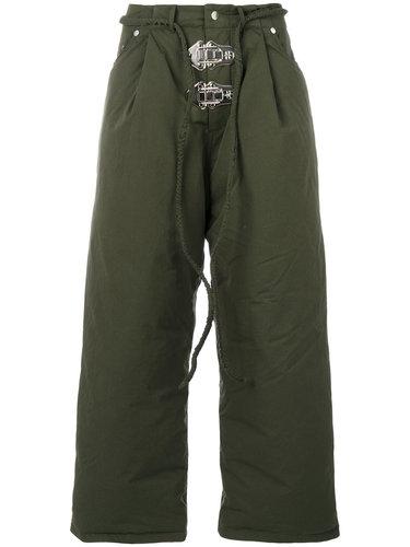 утепленные брюки свободного кроя Craig Green