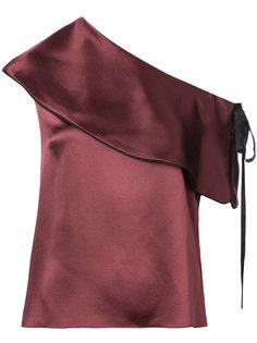 Mercer asymmetric blouse Hellessy