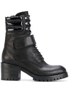 байкерские ботинки на каблуке Fausto Zenga