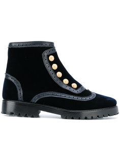 ankle length studded boots Rue St