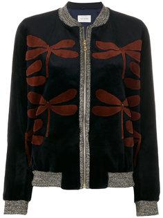 dragonfly crew neck jacket Yves Salomon