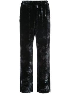velvet trousers Raquel Allegra