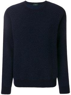 свитер с узором Zanone