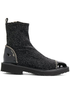 glitter ankle boots Giuseppe Zanotti Design