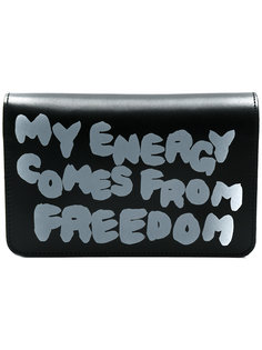 slogan wallet Comme Des Garçons Wallet