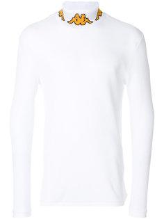 printed roll neck sweatshirt  Kappa