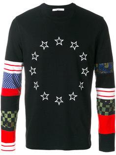 star colour-block sweatshirt Givenchy