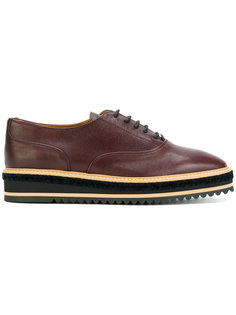 platform oxford shoes Castañer