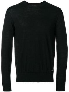 logo pin sweatshirt  Emporio Armani