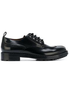 ботинки-дерби с заклепками в форме звезд Jimmy Choo