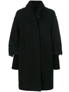 пальто с вышивкой Ermanno Scervino