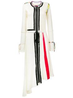 асимметричное платье с отделкой  J.W.Anderson