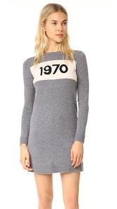Bella Freud 1970 Crew Neck Dress