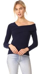 Michelle Mason Asymmetrical Band Sweater