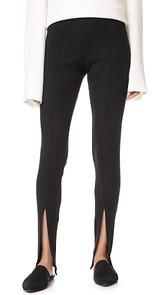 Rachel Pally Luxe Rib Front Slit Pants
