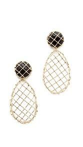 Rosantica Caged Teardrop Earrings