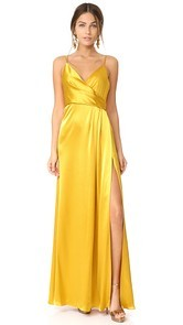 Jill Jill Stuart Wrap Satin Dress