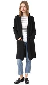 Madewell Daphne Knit Car Coat