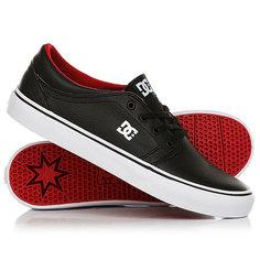 Кеды кроссовки низкие DC Shoes Trase Black/Red/White