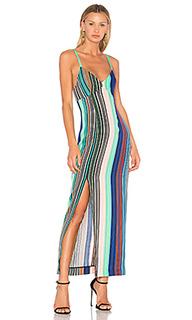 Платье с разрезом - Diane von Furstenberg