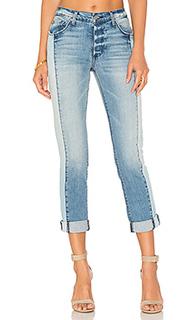 Узкие джинсы бойфренд с подкадкой harper - Black Orchid