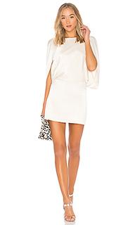 Мини платье с коротким рукавом - Halston Heritage
