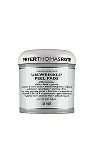 Ватные салфетки для снятия пилинга un-wrinkle - Peter Thomas Roth